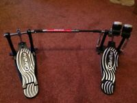 Gibraltar 4611DB Double Bass Drum Pedal