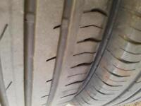 2 tyres 215/55 R16 continental