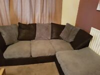 corner sofa swivle chair and foot stall need gone asap