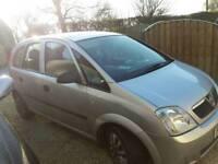 2003 Vauxhall Mereva 1.6 petrol