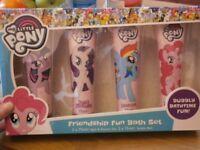 my little pony bath gift set
