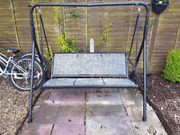 Garden swing good condition