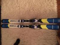 Dynastar 130cn Team Speed Skis with Look Kids Xpress bindings