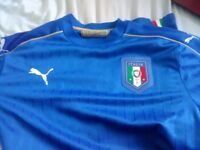 Italy Home Shirt Mens Large