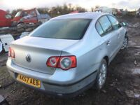 Volkswagen Passat 1.9tdi 2008 year spare parts Breaking