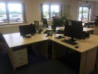 Office furniture (desks/filing cabinets,drawers)