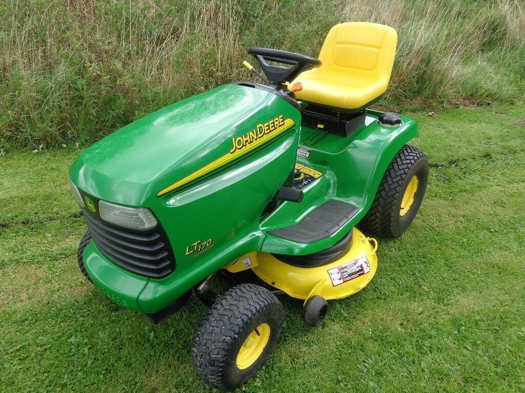 John Deere 170 P : John deere lt quot freedom deck ride on mower in