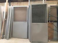 Metal panels etc