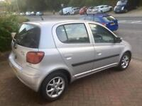 2003 Toyota Yaris 1.0 T-Spirit, Low Mileage