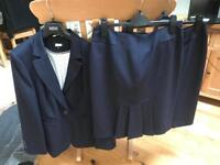 Navy Blue Ladies Suit