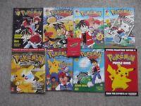 Pokemon Pokedex and books