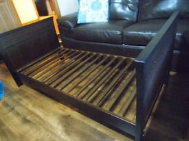 Bebecar trama cot bed, unit and chair.
