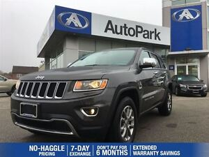 2015 Jeep Grand Cherokee Limited/BLUETOOTH/LEATHER/HEATED SEATS/