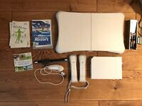 Nintendo wii bundle with wii board