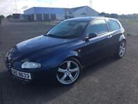 Alfa Romeo 147, 2005, JTD. Low miles. Cheap for quick sale. Offers