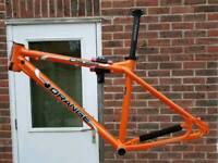 Men mountain bike frame