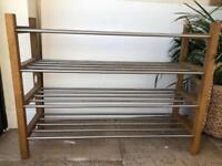 4 tier Ikea shoe rack