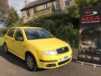 "2006 SKODA FABIA 1.2 HTP CLASSIC 12V 5dr ""IDEAL 1ST CAR"" cheap yaris corsa clio ka polo 1.0 1.4"