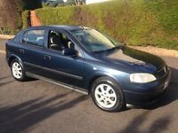 VAUXHALL ASTRA LS AUTOMATIC 1 LADY OWNER 55000 miles