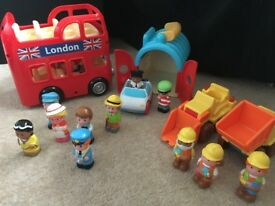 ELC HAPPY LAND FIGURES AND TOYS