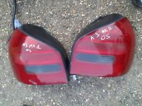 audi a3 mk1 rear light set for sale or fitted thanks