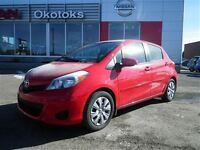 2013 Toyota Yaris LE LOW KM. HATCHBACK