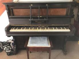 Piano needs and clean and need it gone