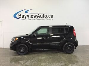 2013 Kia SOUL 4U - SUNROOF! NAV! BLUETOOTH! HTD LTHR! REV CAM!
