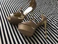 Tops , dress , high heels , boots