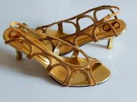 Gold Jewel Shoes