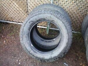 2 Cordovan Wild Spirit Radial AT/S Winter Tires * LT275 65R18 123/120S * $50.00 for 2 .  M+S /  Winter Tires