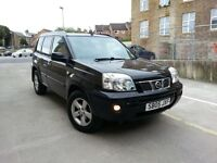 **CHEAP 2005 NISSAN X-TRAIL 2.2 DCi SVE 4WD £2695**SAT NAV+LEATHER+PANROOF Turbo Diesel bargain jeep