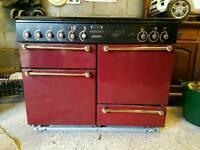 Rangemaster Dual Fuel Cooker