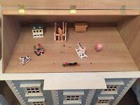 Beautiful four storey dolls house