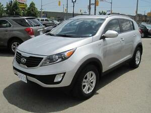 2013 KIA SPORTAGE LX | FWD • Gas Saver • Value