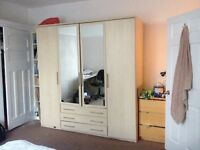 Wardrobe needs to go ASAP due to new furniture arriving on Saturday. Open to offers £50