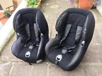 Two Maxi Cosy Priori Kids Car Seats
