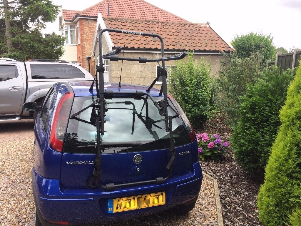 Hollywood High Mount 3 Bike Rear Cycle Carrier Suitable for Hatchback/Estate/MPV/SUV Etc