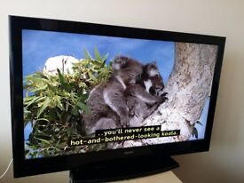 """Excellent 40"""" LCD TV full hd ready 1080p freeview inbuilt"""