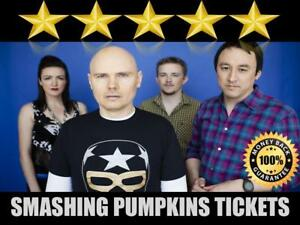 Discounted Smashing Pumpkins Tickets | Last Minute Delivery Guaranteed!