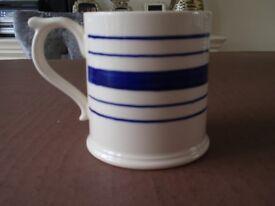Ralph Lauren striped 1/2 pint mug