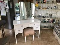 Shabby Chic Project - dressing table and matching chest of drawers