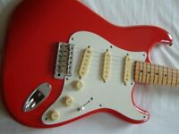 Fender Squier '50s Stratocaster electric guitar - Japan - '80s - Vintage- Fiesta Red - E-serial