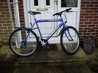 "MOUNTAIN BIKE, 22"" FRAME, 26"" ALLOY WHEELS, FULLY SERVICED."