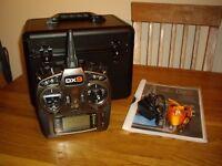 Spektrum DX9 Transmitter and case