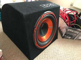 Edge 900W subwoofer + Cables