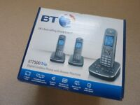 BT7500 Trio Digital Cordless Phone with Answer Machine