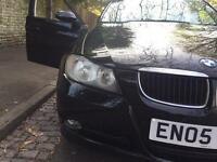 BMW 320D E90 , Black 2005 Full Service 12 Months MOT £2200