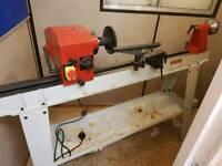 Axminster hobby wood lathe