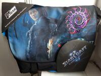 Razer StarCraft II Zerg Laptop Messenger Bag - *NEW*, still in wrapping